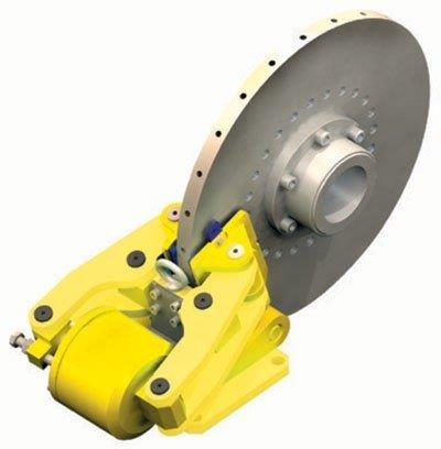 Manutenção de freios industriais